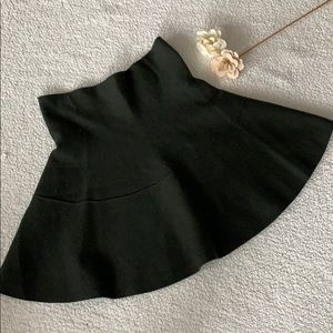 Zara Forest Green Mini Skirt